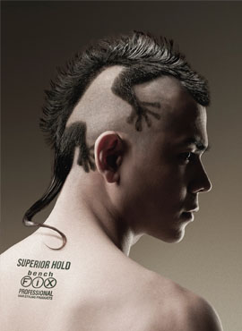 Wycinanie Wzorów We Włosach Salon Fryzjerski Blackwhite